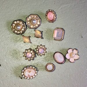 🆕 assorted Stud earrings / mix & match 12 pieces